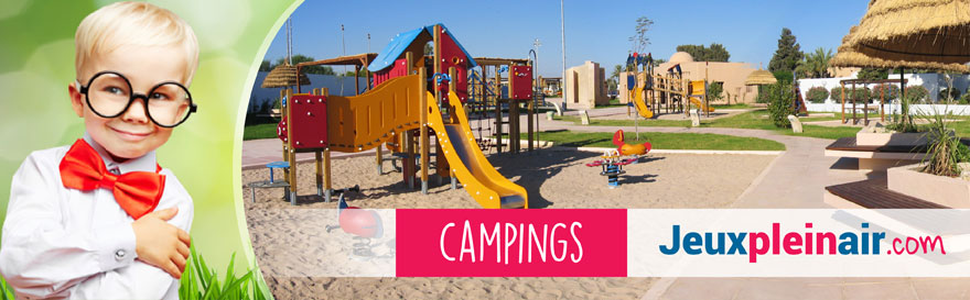 aires de jeux en exterieur pour les campings et hotels